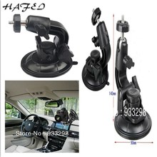 HAFEI Hot Seller Suction Cup Mount Flexible Tripod Holder for Camera Car Window Stand Webcam DV dslr camera camcorder(China)