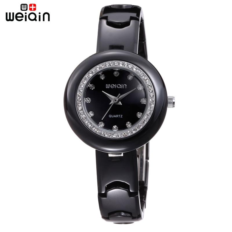 WEIQIN Original Dress High Quality Watches For Women Office Business Lady Watch Elegant Crystal Diamond Fashion Reloj Mujer<br><br>Aliexpress
