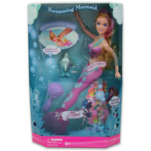 Original Swimming Mermaid Doll Toys For Girls Magic Mermaid Dolls Fashion Ariel Beautiful Doll Lovely Birthday Christmas GIFTS