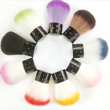 Colorful Nail tools Brush For Acrylic & UV Gel Nail Art Dust Cleaner Nail tools Brush