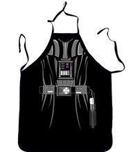 Novelty Funny Apron Star Wars Black Fighters Kitchen Apron Dinner Party Cooking Apron Adult Cozinha Tablier Cuisine Pinafore(China)