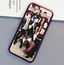 Popular BTS Bangtan Boys Printed Mobile Phone Cases For iPhone 6 6S Plus 7 7 Plus 5 5S 5C SE 4S Soft Rubber Back Cover Shell OEM