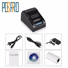 ITRP002 Free ship! 58mm Thermal Receipt Printer Pos thermal printer,pos printer,Compatible with All Windows and Linux(China)