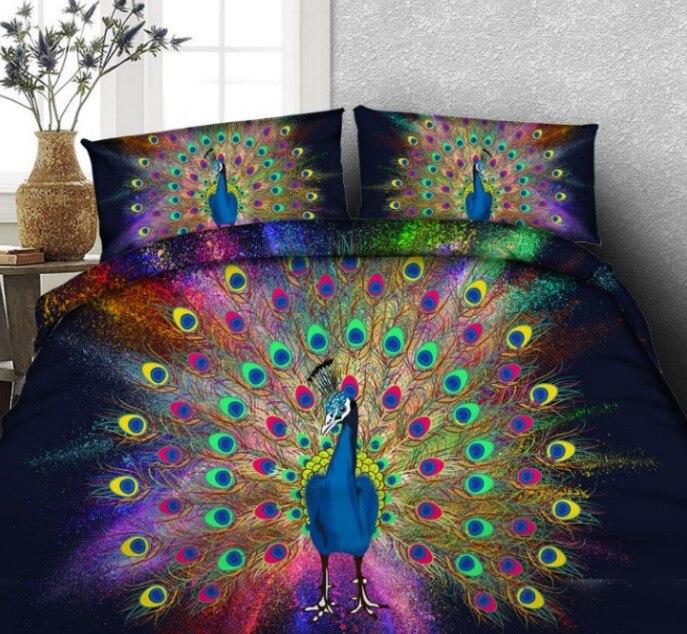 14. peacock bedding