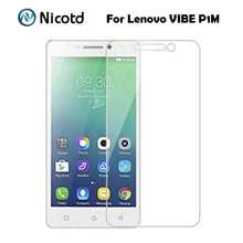 Buy 0.26MM Explosion-proof Tempered Glass Film Lenovo VIBE P1m P1mc50 P1ma40 Dual Sim Front Screen Protector pelicula de vidro for $1.09 in AliExpress store