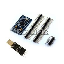 Pro мини ATmega328 5 В 16 м для Arduino совместимый + CP2102 USB 2.0 UART TTL(China)
