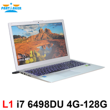 15.6 inch i7 6498DU GT940M 2G Discrete Graphics Laptop Computer with Backlit Keyboard Webcam Wifi Bluetooth HDMI(China)