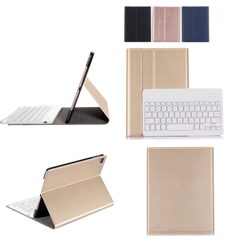 For iPad Pro 9.7 2017 High-Quality Ultra thin Detachable Wireless Bluetooth ABS Ultra thin Keyboard Case cover For ipad 5 ipad 6<br>