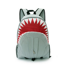 Top 3D Sea Animals School Bags For Boys Kindergarten Baby Shark Horse Print Schoolbag Children Backpack Kids Mochila Infantil(China)