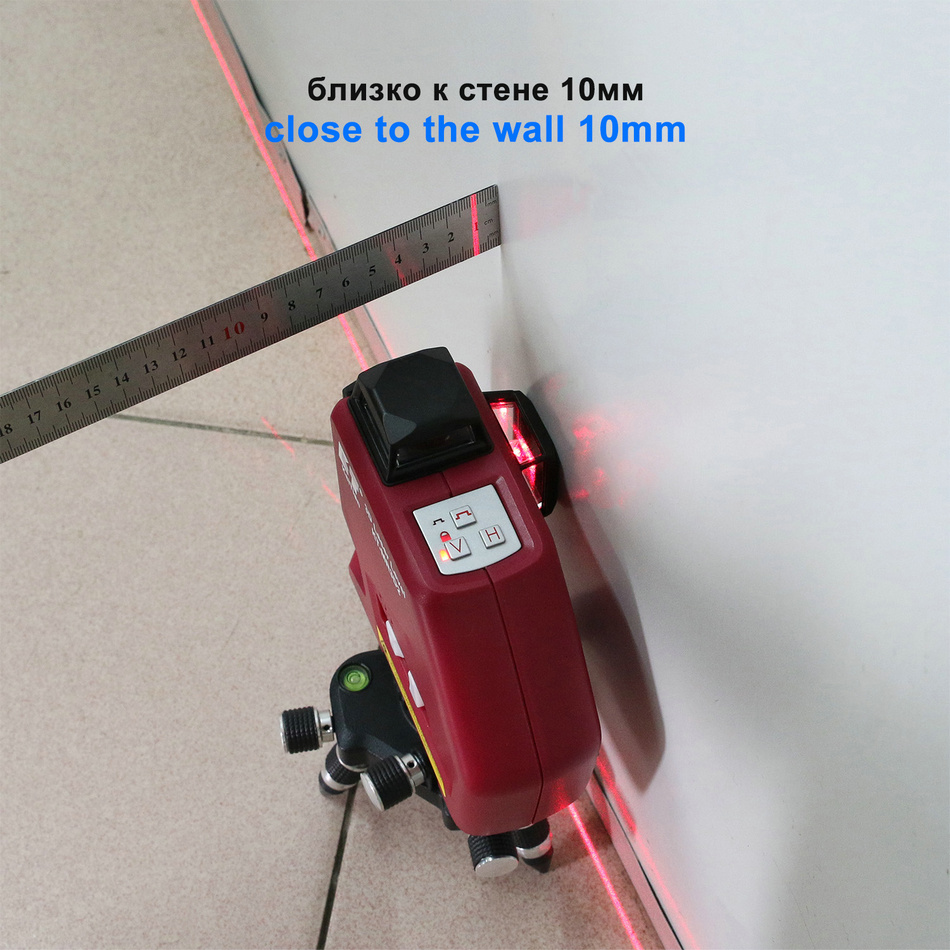 Kaitian Laser Level MR3D2 close wall