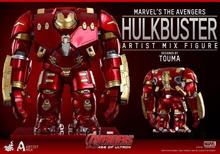 Ironman Ultron Avengers2 Hulkbuster Marvel Figures Q MK44 PVC 17cm Magic Animation Minifigures Collection Globos