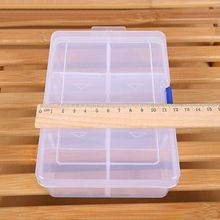Storage Box Finishing Adjustable Large Plastic Compartment Firm Desktop Accessories Parts Containers
