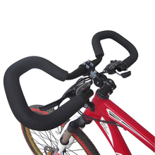 Bicycle Butterfly Handlebar 25.4/ 31.8*580mm Aluminium Alloy MTB Fixed Gear Road Bike Cycling Handlebar + Handlebar Cover Tape