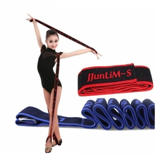 Gymnastics Adult Latin Training Bands Pilates Yoga Stretch Resistance Bands Fitness Elastic Band Crossfit dance training workout(China)