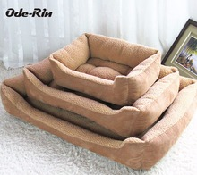 Ode-Rin Cat Litter Cat Litter Pet Cave kennel dog bed dog house products for dogs house cat Doghouse mat soft Pet sleeping bag
