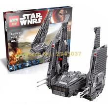 Lepin 05006 1053pcs Star Wars Kylo Ren Command Shuttle Marvel Building Blocks Compatible 75104