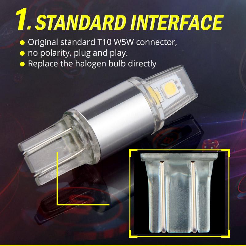 W5W T10 Clearance Lights (5)