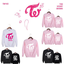 New TWICE DaHyun Momo Sana Mina Ji Hyo Na Yeon Fashion sweatershirt suit spring Autumn long sleeve hoodies
