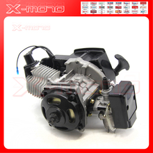 49cc 2 STROKE ENGINE MOTOR MINI ATV QUAD ROCKET POCKET Kids BIKE 25H 7 Tooth(China)