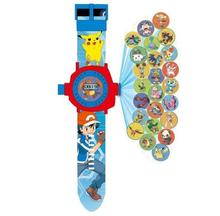 24 Projectors hello kitty Spiderman Yokai watch Wrist Watch action figures Yo-Kai Watch 3D projection Cartoon toys for children