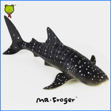 Mr.Froger Whale Shark Model Toy Aquatic Creatures Wild Animals Set Zoo Sea Life Plastic Solid Classic Toys Children Fish Gift