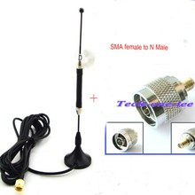 4G Antenna Omnidirectional 10dbi LTE Aerial SMA Magnetic for 4G lte FDD/TDD Router Modem+N Plug Male to SMA Female Adapter(China)
