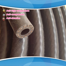 ID:6MM Reinforced Silicone Vacuum Hose Tubing Silicone Pipe Car Reinforced Modification (only balck)