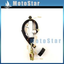 Rear Foot Brake Master Hydraulic Cylinder Pump With Reservoir For Chinese ATV Quad Pit Dirt Bike 50 70 90 110 125 150 200 250 cc