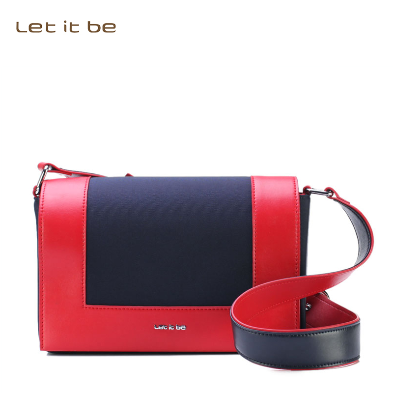 Let it womens small crossbody bags oxford nylon soft waterproof clutch bags new arrival messenger bolsa<br>