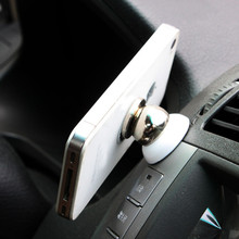 2030#  Universal Magnetic Ball Car Mount Holder GPS Mobile For iPhone 5 6 free  shipping