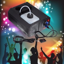 (Ship from Germany) 1500W Low Fog Smoke Machine Fogger Up DJ Party Remote controller DMX controller 220V Stage Lighting