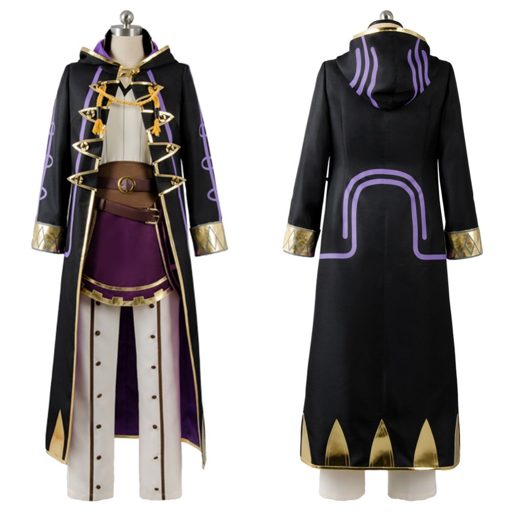 Fire Emblem Cosplay Awakening Cosplay Costume Avatar Mai yunitto Robin Daraen Cosplay Costume Game Party Costume Full Set
