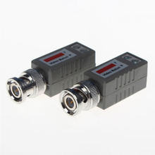 20PCs /Lot Camera CCTV BNC CAT5 UTP Video Balun Transceiver Cable CTV Twisted BNC Passive Video Balun Transceiver