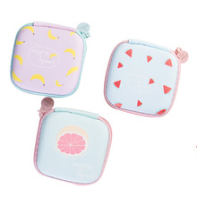Hot Salecartoon Candy Color Coin Purse Key Wallet Earphone Organizer Storage Box Money Bag Men And Women Wallet(China)
