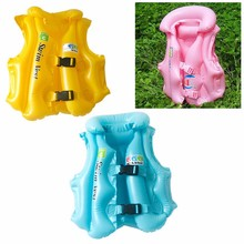 For Boys and Girls Drifting Adjustable Children Kids Babys Inflatable Float Swimsuit Swimming Safety Life Vest(China)