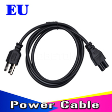 New 3 Prong AC Power Cord 1.2M Plug  Extension Wall Cord Power Cable for laptop adapter lead Adapter EU US Plug