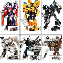 2017 NEW Anime Series Action Figure Toys Transformation 4 Robot Car ABS Plastic Class Cool juguetes Model Boy Toy Christmas Gift