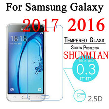 Tempered Glass For Samsung Galaxy A3 A5 A7 2017 A520 A32 S3 S4 S5 S6 Note3 4 5 J1 2 J3 J5 J7 A3 A5 A7 2016 Screen Protector Film