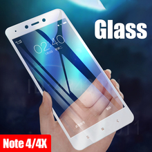 Protective Glass Xiaomi Redmi Note 4 Note 4X Tempered Screen Protector Film 2.5D Edge Glass Note4 Global Version Film