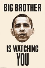 Buy Big Brother Watching You, Obama Vintage Retro Poster Decorative DIY Wall Stickers Home Posters Art Bar Decor Gift for $4.61 in AliExpress store