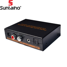 Digital to Analog Audio Decoder with SPDIF/Toslink 3X1 Switch Support 5.1-Channel Audio for DVD,blu-ray player,PS3, PC(China)