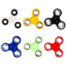 10 colors Tri-Spinner metal Fidget Spinners Hand Spinner Finger gyro EDC Spinner Focus Austim and ADHD Anti Stress Rotation Toys