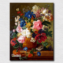 Flower canvas prints beautiful picture decorate bedroom perfect gift for friend and clients in Christmas(China)