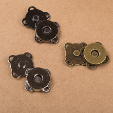 3 PCS freeshipping High quality hand sewing Club Super Magnet buckle bags and clothing buttons