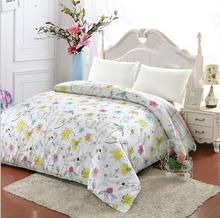 Fresh flowers 100% cotton duvet cover quilts cover twin full queen king size Quilt cover bedding 160x210cm 220x240cm 200x230cm(China)