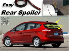 Root / Rear Spoiler For Ford C-Max C Max CMax Trunk Splitter / Ducatail Deflector For TG Fans Easy Tuning / Free Modeling