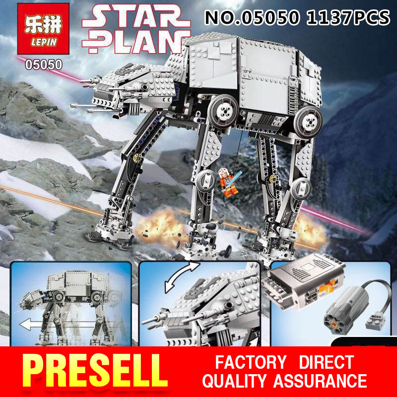 NEW LEPIN 05050 1137pcs AT-AT the robot Model Buil...