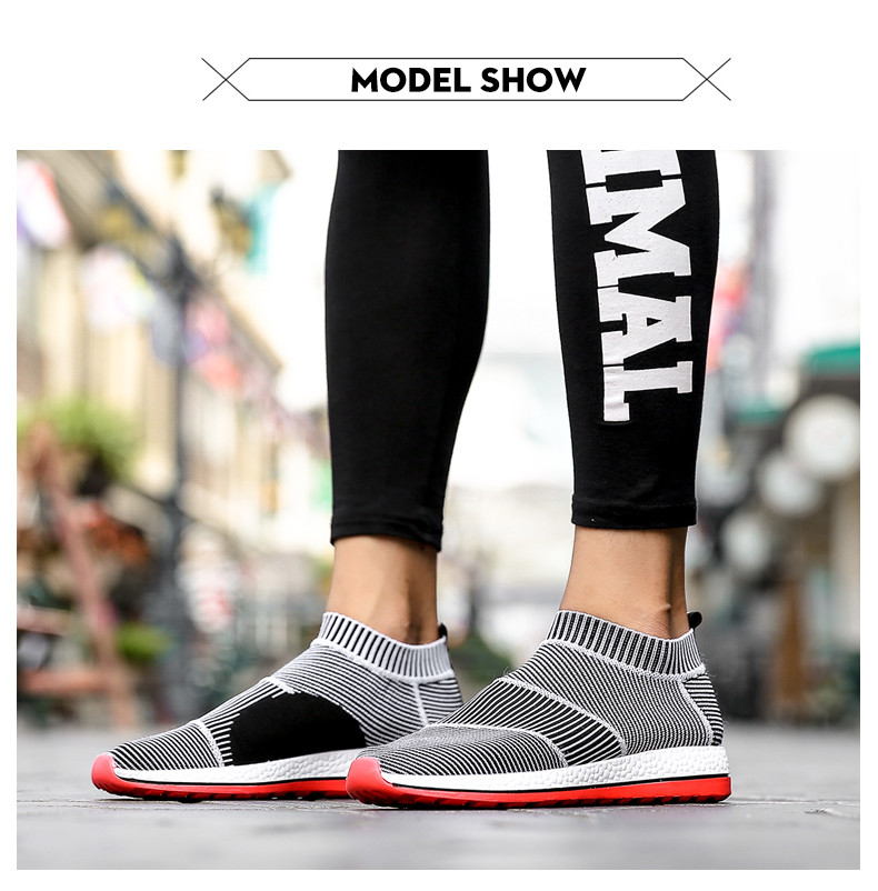 Hot Sale Breathable Men Shoes Mesh (air Mesh) Superstar Sneakers Light Flats Mens Loafers Casual Slip on Male Chaussure Homme 14