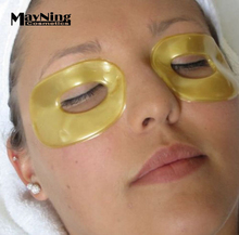 5 Pairs/Packs Best Selling 24K Dark Circle Removal Gold Eye Mask, Remove Eye Bags and Puffy Eyes without Surgery Collagen Mask