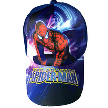 % 3D cartoon movie Spiderman 3D Embroidery Hat Acrylic Couple Baseball Cap fitted hat Gifts Boy and girl Hip-hop Christmas gift
